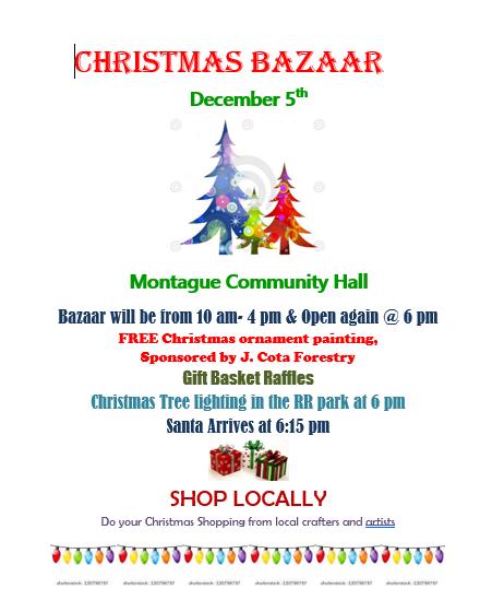 Christmas 2020 bazaar